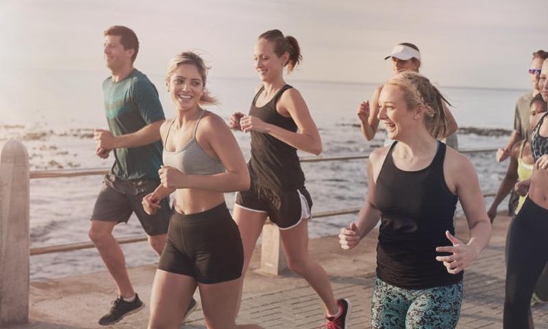 social running -vignette
